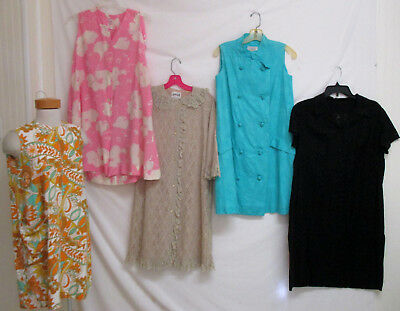 Vintage 60's Robes Loungwear 5 pc Lot