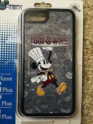 Disney Parks Epcot Food And Wine Festival 2018 Mickey iPhone Cover Plus 8/7/6s