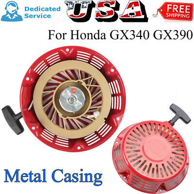 1X Pull Start Starter Recoil Cover Compatible For Honda GX340 GX390 11HP 13HP US