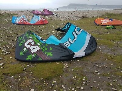 Ozone C4 10m (2011) Kitesurfing Kite - Good Used Condition