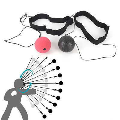 Fighting Ball Boxing Equipments With Head Bands For Reflex Speed Training Box JX