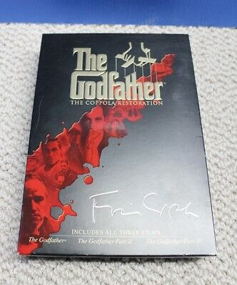 Godfather: The Coppola Restoration (DVD, 2008, 5-Disc Set)