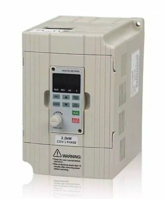 Soyanpower Drive Inverter Professional Variable Frequency 2.2KW 3HP 220V 9.6v