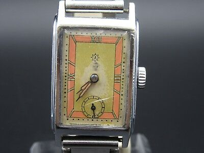 "L904 ⭐⭐Vintage "" Junghans "" Hand Wound Art Deco Wrist Watch ⭐⭐"