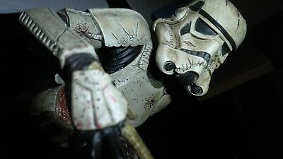 Star Wars Zombie Death Trooper Mini Bust Statue