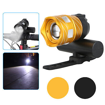 USB Rechargeable LED Cycling Bike Bicycle Head Light Zoom Torch ,500 LM XML T6