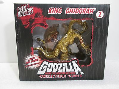 Godzilla King Ghidorah Series 2 Signed Limited Edition Far East Monsters 2008 FS