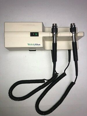 Welch Allyn 767 Series Transformer, Light Color, No Labels or Residue.