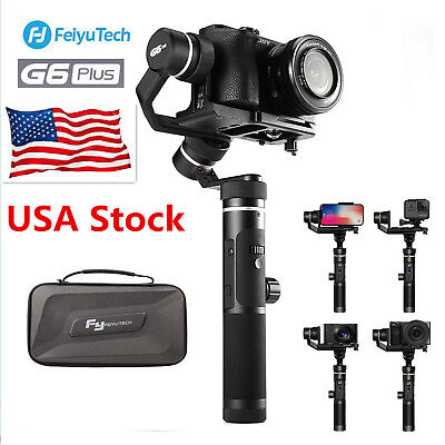 *US STOCK* Feiyu G6 Plus 3-Axis Handheld Wifi Gimbal Stabilizer for GoPro Camera