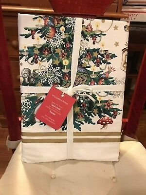 """NWT!!Williams Sonoma Twas The Night Collection  ~ Christmas Tablecloth 70""""x108"""""""