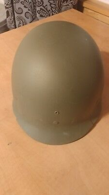 WWII US Army M-1 HELMET LINER ST. Clair lower pressure