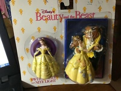 Happiness Express Club: Disney Beauty and the BEAST Nite Light & Switchplate NEW