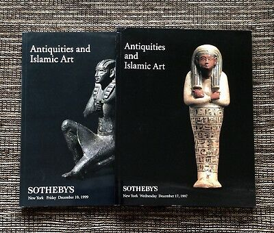 RARE 2-LOT 1997 and 1999 Sotheby's Auction Catalog: Antiquities and Islamic Art