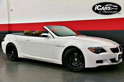 2007 BMW M6  2007 BMW M6 Convertible 2-Owner Only 56,215 Miles $116,770 MSRP Loaded Serviced