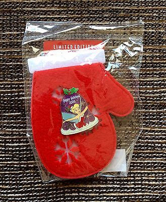 NEW SEALED 2008 Walt Disney Limited Edition Tinkerbell Pin, Christmas Stocking