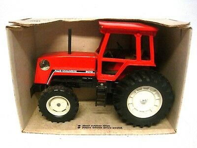 New ERTL Allis Chalmers 8010 Tractor With Cab Black Belly 1:16 w/Box #1221-USA