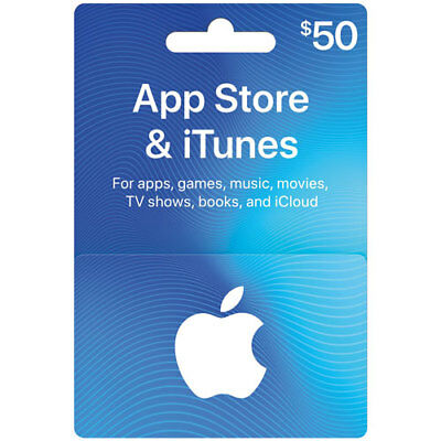 AUTHENTIC CANADIAN iTUNES CARD $50 - iTUNES CANADA APP STORE Play Brawl Stars