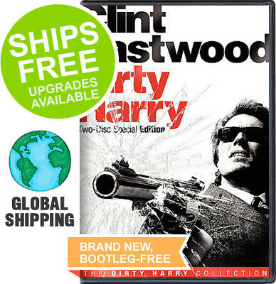 Dirty Harry Collection (2-Disc Special Edition DVD, 2008) NEW, Clint Eastwood