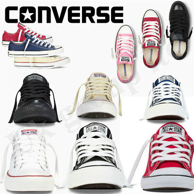 Classic Con verse Chuck Taylor Mens Womens Low Tops Trainers Pumps Shoes Blue
