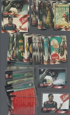 Coca Cola 1996 Phone Card & Cell Sets