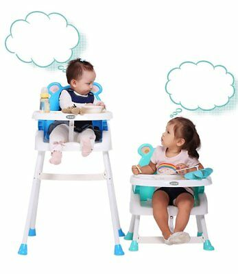 Baby High Chair Foldable Feeding Highchair Height Adjustable Seat Table FastShip