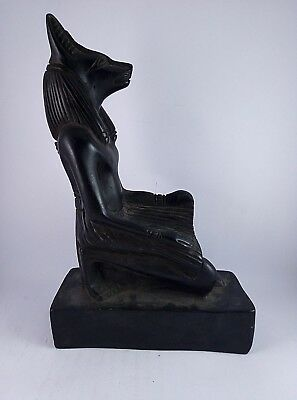ANCIENT EGYPTIAN ANUBIS Statue Stone Antique 1458-1235 BC