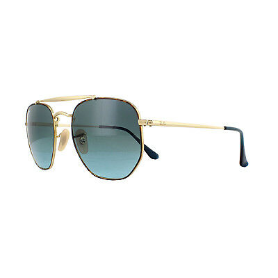 a03c6ab86b RAY-BAN SUNGLASSES MARSHAL 3648 91023M Tortoise Gold Blue Gradient ...