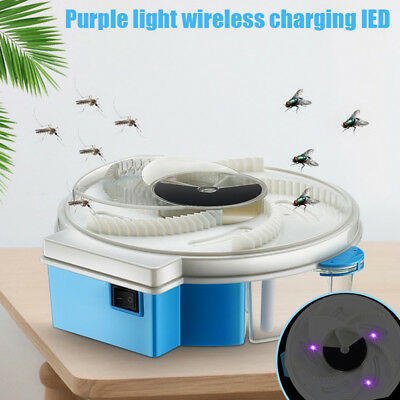 Automatic Electric Fly Mosquito Killer Trap with Trapping Food Insect Catcher