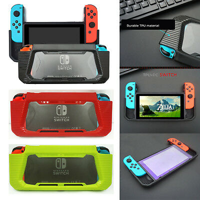 For Nintendo Switch Case Heavy Duty Slim Rubberized Snap on Protector Hard Cover