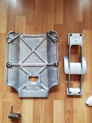 Yamaha Superjet Worx Ride Plate And Scoop Intake Grate
