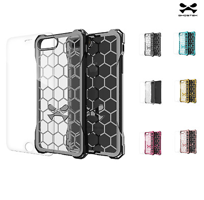 Ghostek Covert Apple iPhone Shockproof Protective Gel Bumper Case Clear Cover