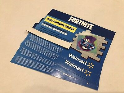 FORTNITE  **exclusive** Code In-Game Spray EXP 1/31 Only Available W/This Card