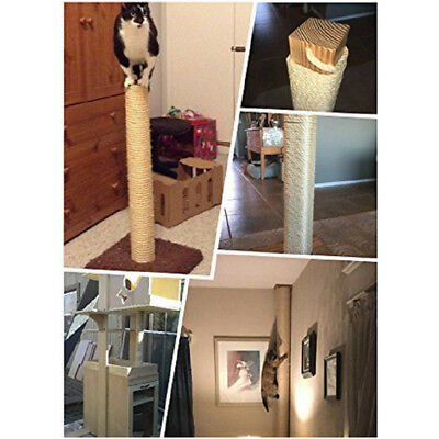 Replacement Cat Scratching Post Sisal Rope - Hemp Rope For Cat Tree 5/10/20M New