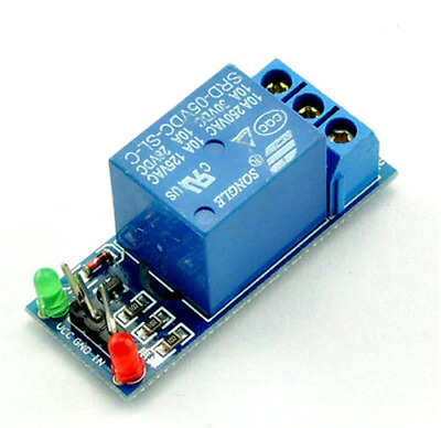 Single channel relay board, 5V operation + connection cables, Arduino, UK Seller