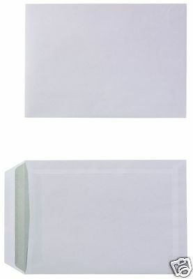 Box of 500 White 90 gsm Self-Seal C5 Business Envelopes 2042143 No Window S7B