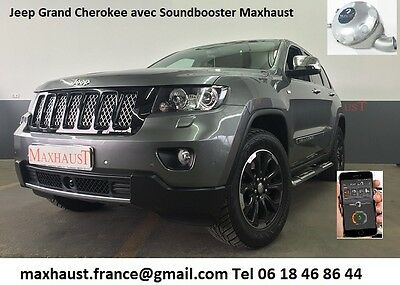 1 SoundBooster Active Sound Maxhaust France Jeep GMC Lincoln