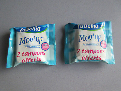 Collection : Lot 4 Sachets Tampons Mov' Up  Labellia Et Nett Neuf