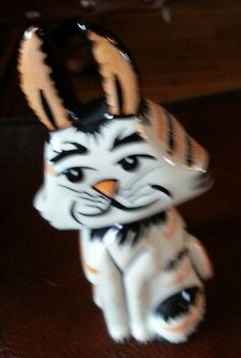Lorna Bailey TIGGY the cat Figurine - Excellent Condition FREE P&P #
