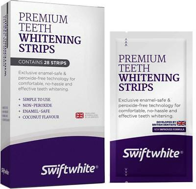 Teeth Whitening Strips, Fast Results & No Sensitivity, Peroxide-Free Luxe 3D