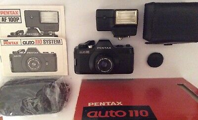 Pentax auto 110 rare collectable SLR camera FREE DELIVERY (IDEAL CHRISMAS GIFT)