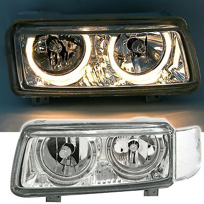 Angel Eyes Scheinwerfer Set VW Passat 35i 93-96 links rechts Klarglas + Blenden