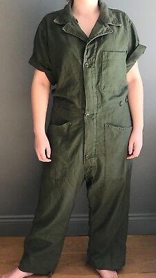 Vintage Military Coverall, Overall. MHL style.