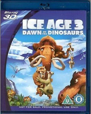 Ice Age 3 - Dawn Of The Dinosaurs 3D Blu-ray (promotional)