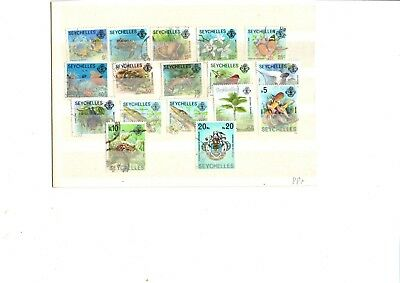 A Used Set From Seychelles