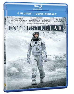 Movie-Interstellar (2 Brd) (UK IMPORT) Blu-Ray NEW