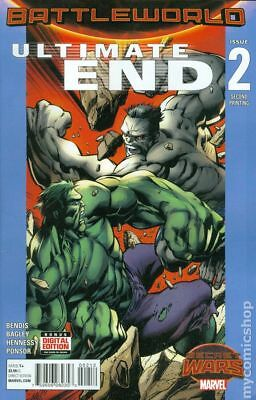 Ultimate End (Marvel) #2C 2015 Bagley Variant 2nd Printing VF Stock Image
