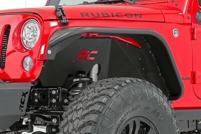 Rough Country Front Inner Fender Liners for 07-18 Jeep JK and JKU Wrangler
