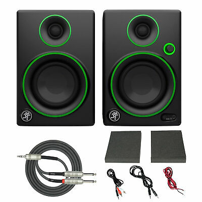 """Mackie CR3 3"""" Creative Reference Multimedia Monitors (Pair) with Breakout Cable"""