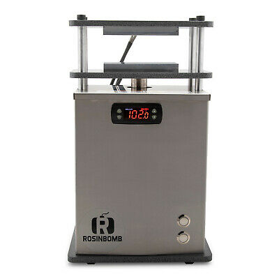 RosinBomb M-50 Personal Rosin Press - Solventless Extraction, Dual Heat Plates