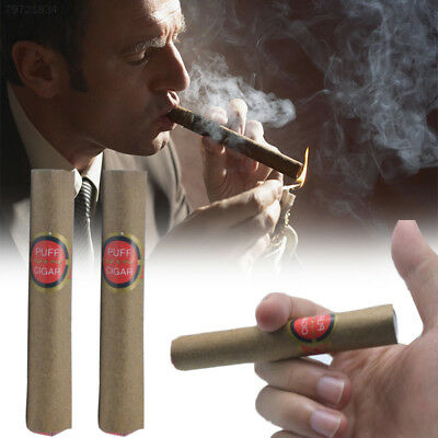 42C7 Fake Smoking Cigar Toy Fancy Costume Prank Joke Gag Lit Random Delivery